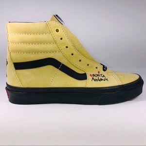 VANS SK8 HI ATCQ Mellow Yellow & Black Sneakers